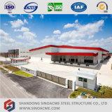 Sinoacmeはエチオピアの鉄骨構造の研修会を組立て式に作った