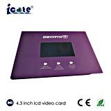 Diseño del precio de fábrica nuevo tarjeta video del LCD de 4.3 pulgadas