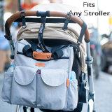 Совершенно новая женская сумка Diaper матери дамской сумочке Packpack с теплее карман