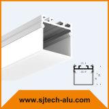 Plafond In een nis gezet Opgezet LEIDEN Profiel 25X16mm van het Aluminium