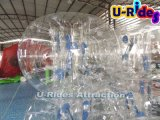 Bille transparente gonflable de pare-chocs de PVC