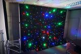 LED de alta calidad estrellas cortina con LED RGB / Estrellas para la boda
