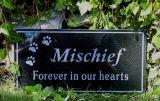 山西の黒い花こう岩の米国式の墓地の墓石
