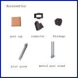 Feixes compostos plásticos de madeira impermeáveis/borne (90*90mm) para a construção