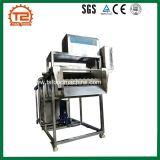 De oranje Wasmachine van de Bel van de Appel en van de Mango en de Parallelle Wasmachine van de Borstel