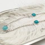 Korte Halsband van de Parel van juwelen de Vastgestelde Groene met Goedkope Prijs