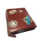 Rectángulo de zapato rígido de la cartulina acanalada que empaqueta para enviar