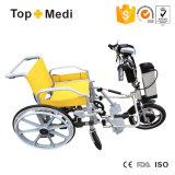 Acoplado del sillón de ruedas del mecanismo impulsor de potencia de Handcycle del litio Tew003
