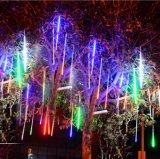 عيد ميلاد المسيح زخرفة نيزك مطر ضوء [لد] أضواء