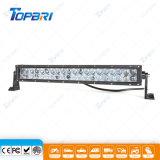 120W barra ligera doble a prueba de choques de conducción del automóvil LED de la fila 4D