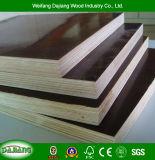 Garantie de haute qualité de la construction du panneau de coffrage avec film face et le peuplier pour la construction de cadre de base