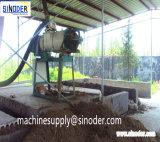 El abono de la basura animal de los materiales agrícolas que deseca/deseca las máquinas