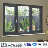 Finestra di alluminio poco costosa della stoffa per tendine di vetratura doppia di Metel di ultimo disegno
