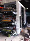 Machine d'impression flexographique de papier d'aluminium de couleur de papier en plastique à grande vitesse du film 8 (HYT-8600-81600)