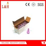 La boquilla de cerámica del alúmina 0315033 solicita soplete de TIG