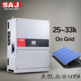 SAJ 25KW sur réseau IP65 en trois phases de convertisseur de puissance solaire intégré avec interrupteur DC