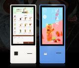 15.6, 17, 19, 22, 27, 32, 37, 43 의 순서 높은 조사 식사 LCD 접촉 스크린 간이 건축물에 사용되는 55 인치 순서 기계 셀프서비스 단말기