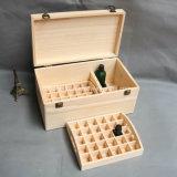 カスタム固体マツ木精油のびんボックス