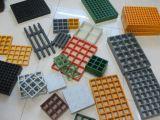 Reja moldeada FRP/GRP/reja de Figerglass/reja/proyectos plásticos/aguas residuales/corrosión