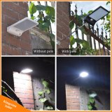 indicatori luminosi impermeabili della parete della via esterna della lampada di obbligazione del giardino delle lampadine del sensore di movimento dell'indicatore luminoso di via di energia solare di 450lm 36 LED PIR
