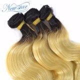 613 черных пачки человеческих волос волос девственницы объемной волны корня