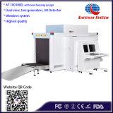 En100100d equipaje máquina de rayos X - Escáner vista dual de la máquina de rayos X.