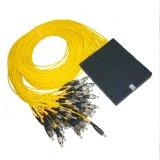 1X64 Modular PLC Splitter de fibra óptica