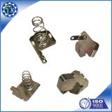 Contatto piano della molla a lamelle della batteria del metallo dell'acciaio inossidabile dell'OEM di abitudine della fabbrica di cinesi