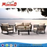 2018 nueva llegada de la cuerda de lujo sofá cuerda conjuntos de muebles de jardín al aire libre