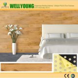 De houten Tegels van de Muur van pvc van het Ontwerp van de Textuur voor de Decoratie van het Huis