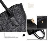 Bw-2059 Dernière mode Jeu de 3 gros avec 4 couleurs mode femmes Crocodile sac fourre-tout sac à main