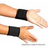Haute qualité respirable chauffé élastique de renfort de support de poignet en nylon