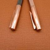 Oro rosa brillante metal Bolígrafo con cuerpo de plumas enchapado Eléctrico (LT-E089)