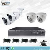Sicherheits-analoges System Ahd Installationssätze CCTV-4CH DVR vom Wardmay CCTV-Hersteller