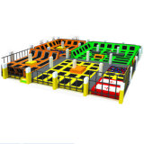 Square Trampoline Indoor Adulte Parc Builder pour les adultes et de conception Kids Indoor