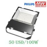 Gran cantidad de lúmenes 80W 100W Reflector LED 150W
