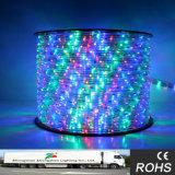 RGB LED flexível de alta tensão da corda faixa de luz com barra KTV Decarative