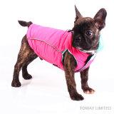 Personnaliser veste imperméable chien Pet enduire avec le plomb Boucle de ceinture
