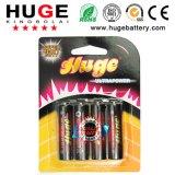 batteria resistente R6P di formato di 1.5v aa
