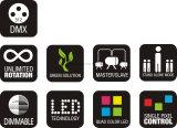 LEIDENE van de Vlek van de Straal van het Pixel RGBW van de Verkoop van de fabriek toont het Directe/van de Prijs 5X15W 4in1 Bewegende HoofdLicht voor DJ/Party/Club/TV/de Apparatuur van de Disco