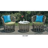 Heißer Verkaufs-weiße Patio-Möbel für Garten