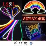 Marchio al neon impermeabile completo della firma dell'indicatore luminoso della corda della flessione di IP68 RGB LED