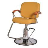 의자 간단한 살롱 이발소용 의자를 유행에 따라 디자인 하는 고전적인 나무로 되는 팔