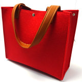 Il programma di utilità 2018 del feltro di modo delle signore di sacchetti di cuoio del Tote insacca le borse delle donne