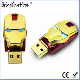 Super herói Homem de Ferro Mask (USB XH-USB-137)