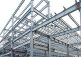 Frame estrutural de aço pré-fabricado elegante para a oficina de aço de estacionamento do aço da oficina da construção de aço do carro