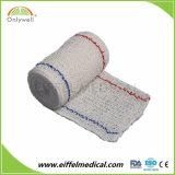 Fasciatura elastica del Crepe di Extense dello Spandex medico del cotone