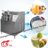 Milieu, les produits laitiers, homogénéisateur haute vitesse avec l'acier inoxydable