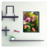 La tela di canapa astratta del fiore di paesaggio di Morden stampa le maschere con il blocco per grafici