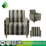 ホテルの居間(ZSC-56)のための型様式ファブリックソファーの椅子